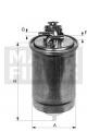 Palivový filtr MANN WK853/9 (MF WK853/9) - FIAT