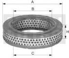 Vzduchový filtr MANN C1776 (MF C1776)