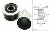 Alternátorová volnoběžka (předstihová spojka) INA (IN 535004610) - HYUNDAI, KIA
