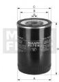 Palivový filtr MANN WK9150 (MF WK9150)