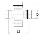 Kloub, podélný hřídel LÖBRO U-154