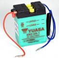 Motobaterie YUASA 6N2-2A-1 2Ah 6V P+ /70x47x96/