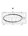 Těsnění olejového filtru MANN MF DI88-07