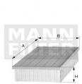 Vzduchový filtr MANN C3184 (MF C3184) - ALFA ROMEO, LANCIA