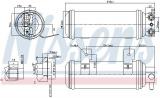 Vysoušeč klimatizace NISSENS 95057