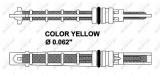 Expanzní ventil, klimatizace NRF 38212